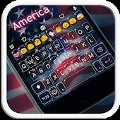 US Independence Keyboard Theme