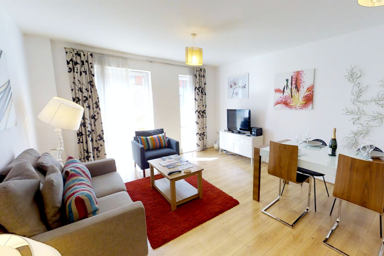 living space at Pepys Court