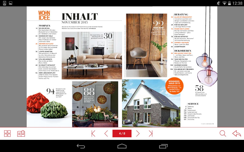 wohnidee deko wohnen android apps on google play. Black Bedroom Furniture Sets. Home Design Ideas