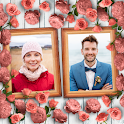 Flower Dual Photo Frames icon