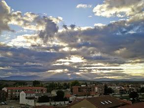 Photo: Etapa 20.Posta de sol. Astorga.