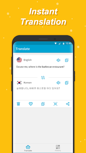Language Translator, Pronounciation & Conversation - screenshot