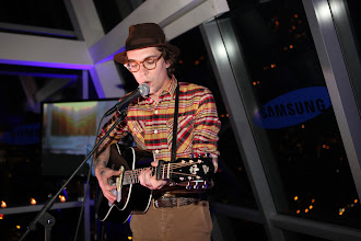 Photo: Justin Townes Earle celebrates the launch of his new album, Nothing's Gonna Change the Way You Feel About Me Now, at Samsung's 2012 Audio Launch Party. Samsung's 2012 premium audio products offer vacuum tube amplifiers for warmer, more natural sound.   Get his album http://www.justintownesearle.com/
