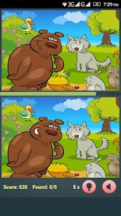 Find The Differences – Cartoon Spot The Difference 1.3.0 (MOD + APK) Download 2