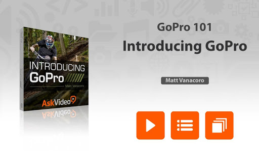 Intro Course For GoPro