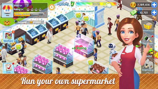 My Supermarket Story : Store tycoon Simulation 1.4 de.gamequotes.net 1