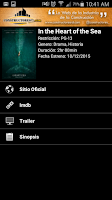 Screenshot of La Cartelera App