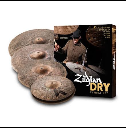Zildjian K Custom Special Dry Cymbalpack - KCSP4681