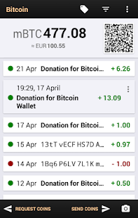 Bitcoin Wallet for Testnet - screenshot thumbnail