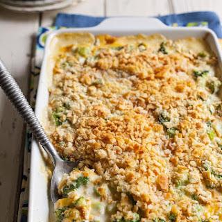 Broccoli Casserole With Ritz Crackers Cream Of Celery Soup Recipes.