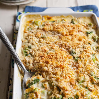 Broccoli Casserole With Ritz Crackers Cream Of Celery Soup Recipes.