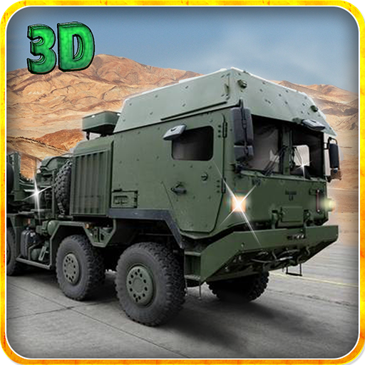 Army Truck Cargo Transport 3D