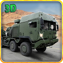 Army Truck Cargo Transport 3D icon