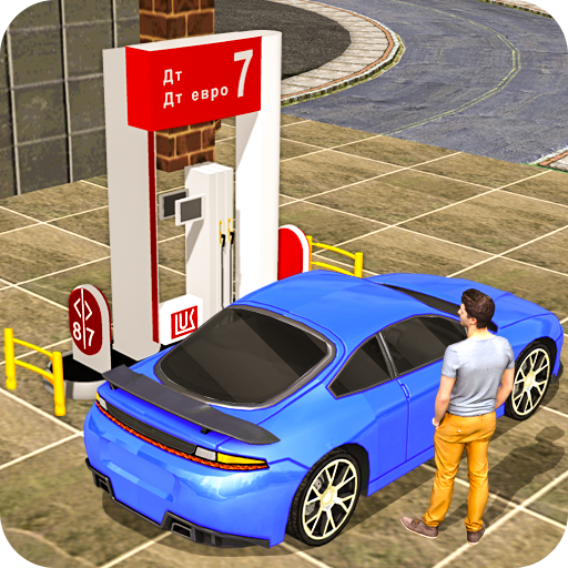 Gas Car Station Services: Highway Car Driver (game)