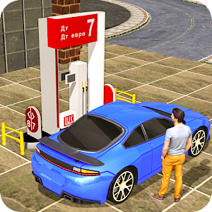Gas Car Station Services: Highway Car Driver apk Download