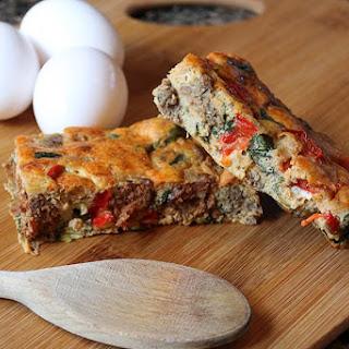 Eggceptional Sausage Keto Frittata.