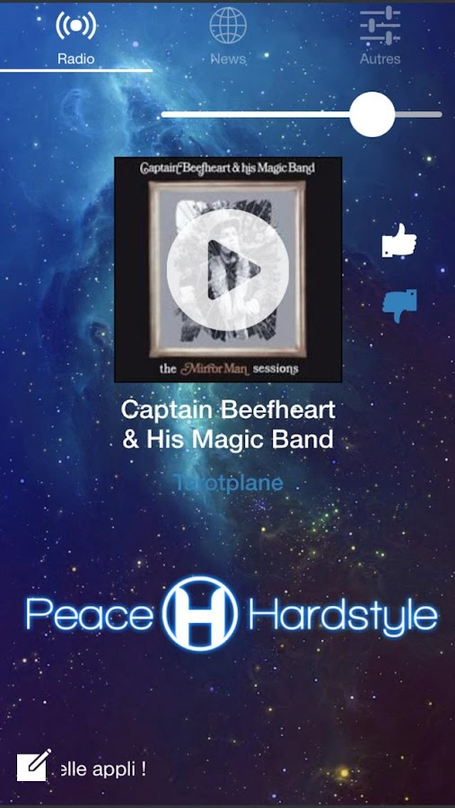 Peace And Hardstyle Radio- screenshot