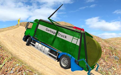 Offroad Garbage Truck Simulator Trash Driver Games 1.10 screenshots 2