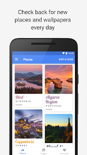 Hello World - Travel discovery & Travel Wallpapers Screenshot