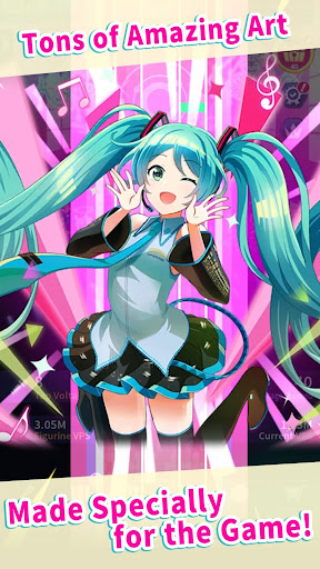 Hatsune Miku - Tap Wonder modavailable screenshots 3