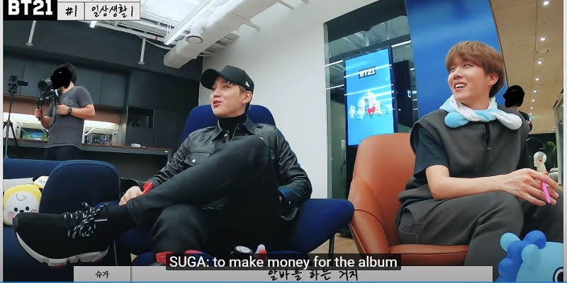 BTS and BT21 making money