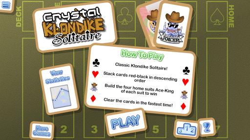 Crystal Klondike Solitaire  screenshots EasyGameCheats.pro 1