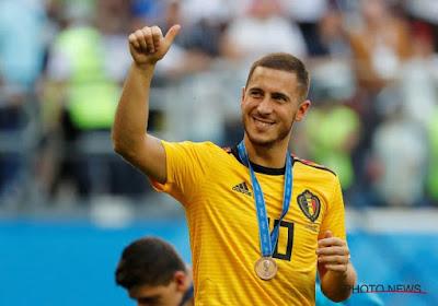 Grâce à tous ses dribbles durant la Coupe du Monde, Eden Hazard entre dans l'histoire !