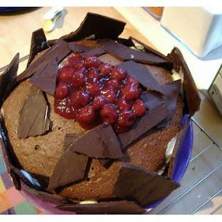 Cherry Roll Cake