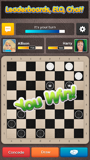 Checkers Plus - Board Social Games screenshots 2