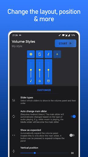 Volume Styles - Panneau de volume personnalisé screenshot 7