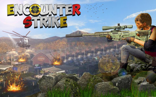FPS Encounter Strike 3D: Free Shooting Games 2020 android2mod screenshots 4
