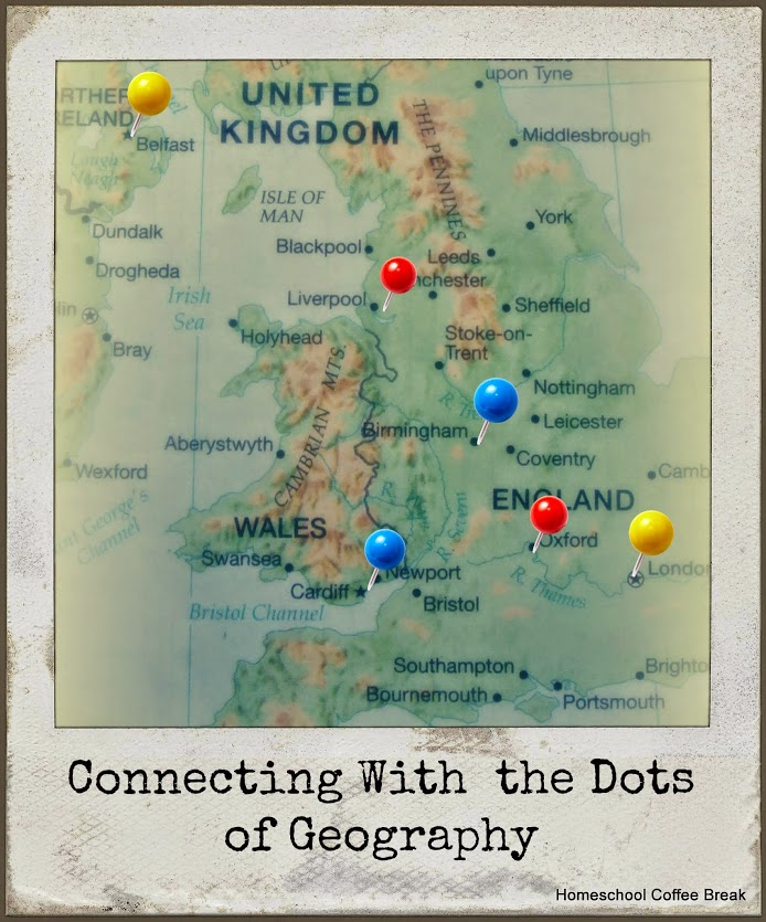 Connecting With the Dots of Geography @ schoolhousereviewcrew.com