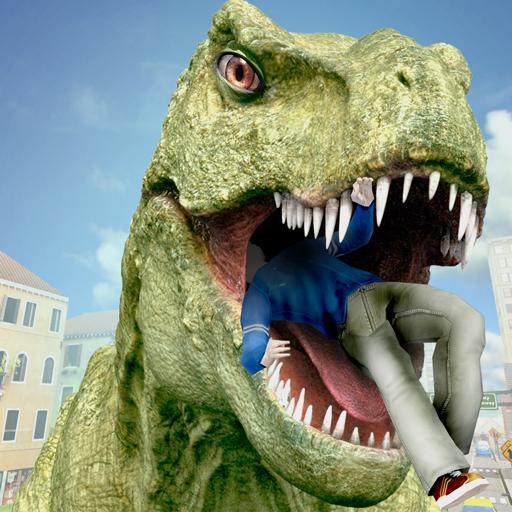 Wild Dinosaur City Mayhem Simulator Attack (game)