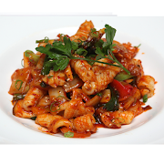Spicy Stir Fried Squid