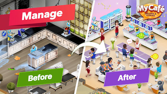 My Cafe Recipes & Stories Mod Apk 2020.7.1 (Unlimited Coins) 1