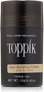 Toppik Hair Building Fibers - Medium Blonde, 0.42oz