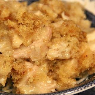 Easy Slow Cooker Chicken and Dressing.