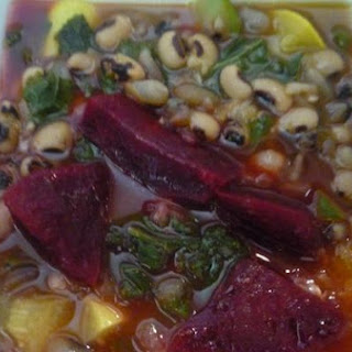 Black-Eyed Peas and Mixed Veggie Soup