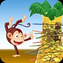 Dropping Tumblin Monkeys Falling - 3D Pick Sticks icon