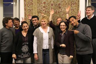 Photo: The IARJ Steering Committee go crazy!
