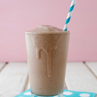 Chocolate Almond Butter Smoothie.