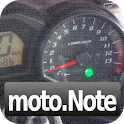 moto.Note - (バイク燃費/車両管理) icon