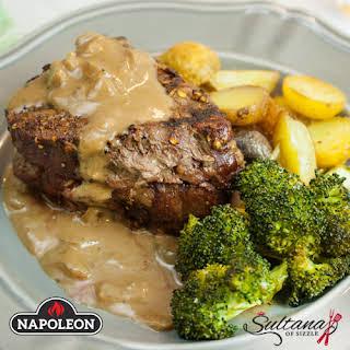 Steak Diane.