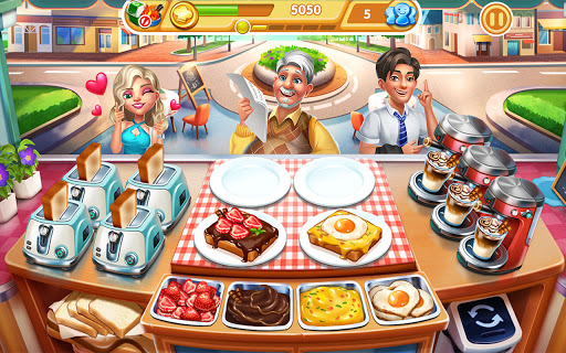 Cooking City: frenzy chef restaurant cooking games 1.82.5017 screenshots 10