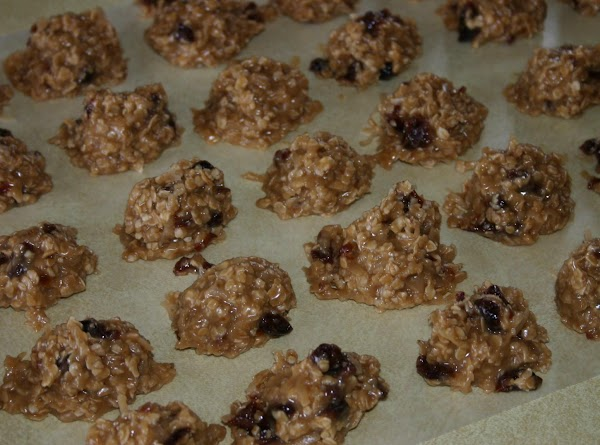 Using a medium to large cookie scoop, or a couple tablespoons, drop cookies onto...