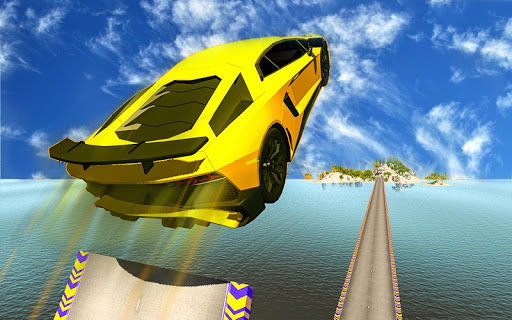 Extreme Mega Ramp - Car Flip Stunts 1.1 screenshots 9