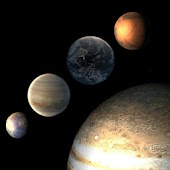 Planets Live Wallpaper
