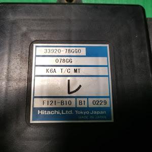 Kei HN22S BターボのECUのカスタム事例画像 川崎さつきさんの2018年11月19日22:19の投稿