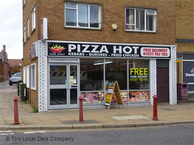 Pizza Hot On New Street Pizza Takeaway In Town Centre