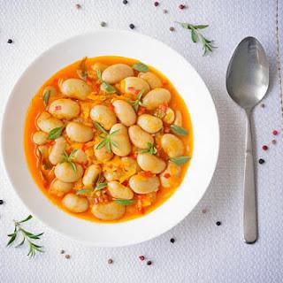 Vegan White Bean Ragout